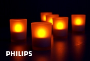 Загадочные тени Philips Imageo TeaLight, 6 set.