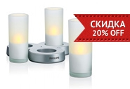 Акция недели – 20% скидка на свечи Philips Imageo CandleLights, 3 set!