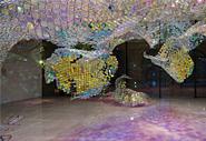 Unwoven Light - потрясающая инсталляция Soo Sunny Park
