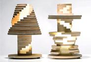 Лампа Babele как одна большая головоломка