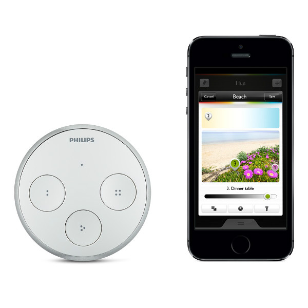 Без батареек, без проводов – пульт управления устройствами Philips Hue