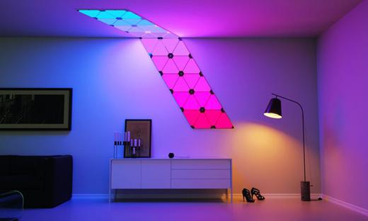 Модульный светильник Nanoleaf Aurora Lighting Smarter Kit
