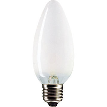 Лампа накаливания Philips Stan 60W E27 230V B35 FR 1CT/10X10F