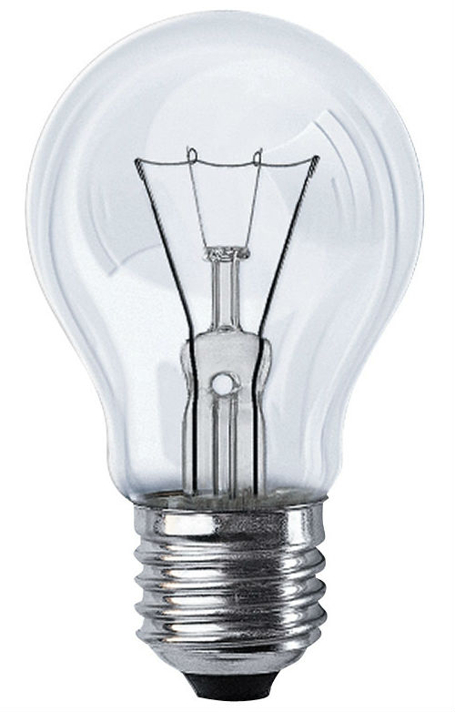 Лампа накаливания Philips Stan 75W E27 230V A55 CL 1CT/12X10F
