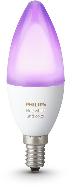 Умная лампа PHILIPS Hue 6,5W E14 RGB White and Color Ambiance