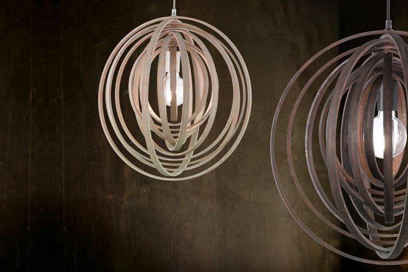 Подвесной светильник лофт Trio 305900126 Boolan